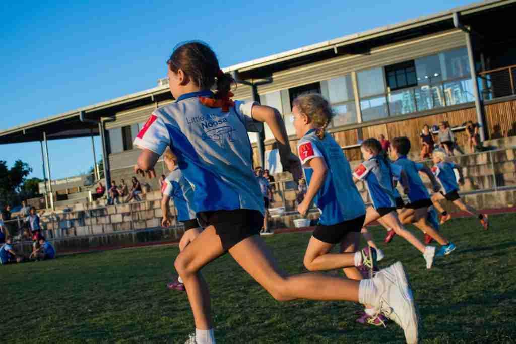 Noosa Little Athletics photography