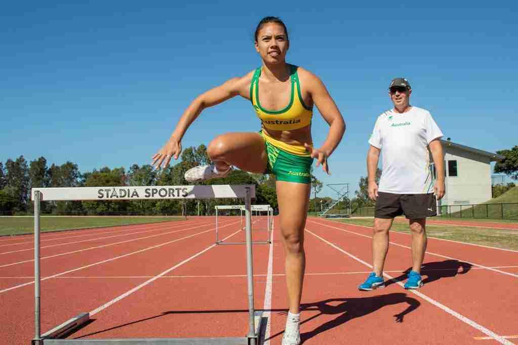 Summer Johnson, Noosa Athlete represents Australia