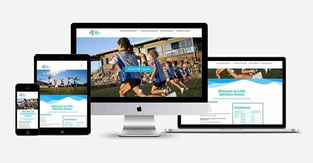 Noosa Little Athletics Website Design