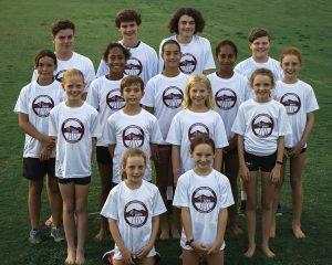 Little Athletics Noosa State Team T-shirt Design