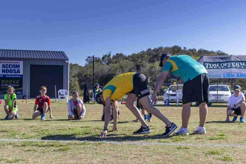 Noosa Athletics Coaching Clinic
