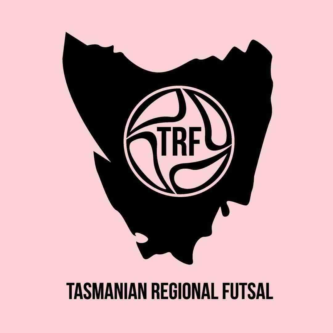 Tasmanian Regional Futsal logo design