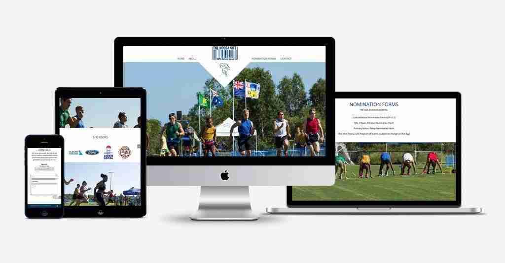 The Noosa Gift Website Design