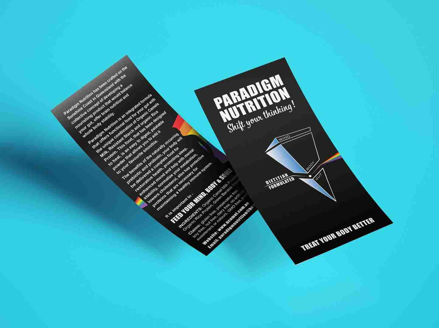 Paradigm Nutrition Flyer Mockup