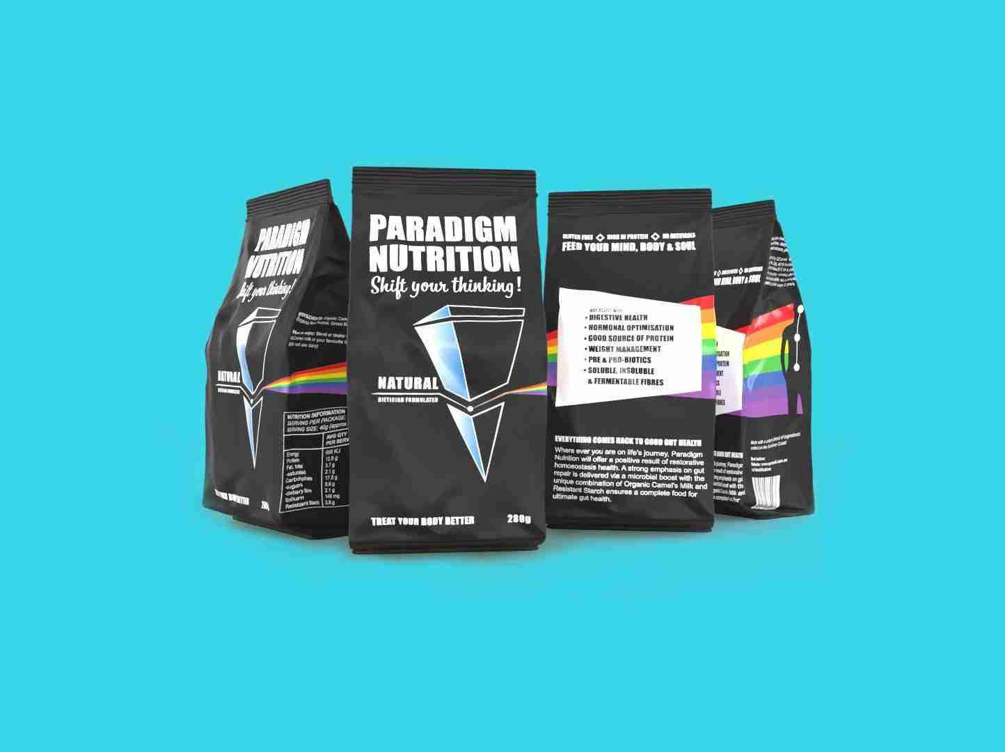 Paradigm Nutrition Product Mockup