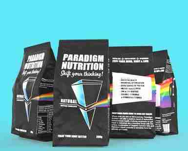 Paradigm Nutrition Product Mockup