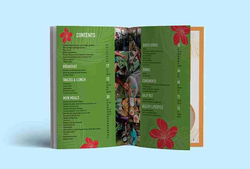 USC Cookbook design mockup