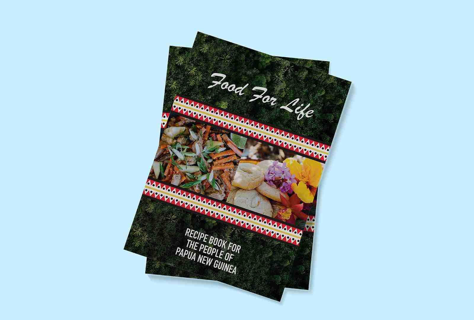 USC Cookbook design mockup